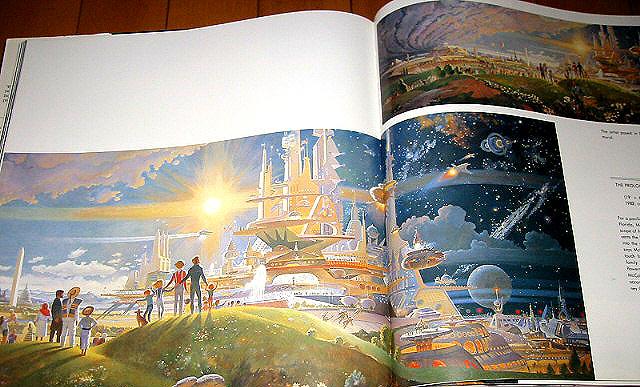 书本,杂志 漫画书 画册,原画集  商品名 稀少!人気!宇宙未来イラスト!