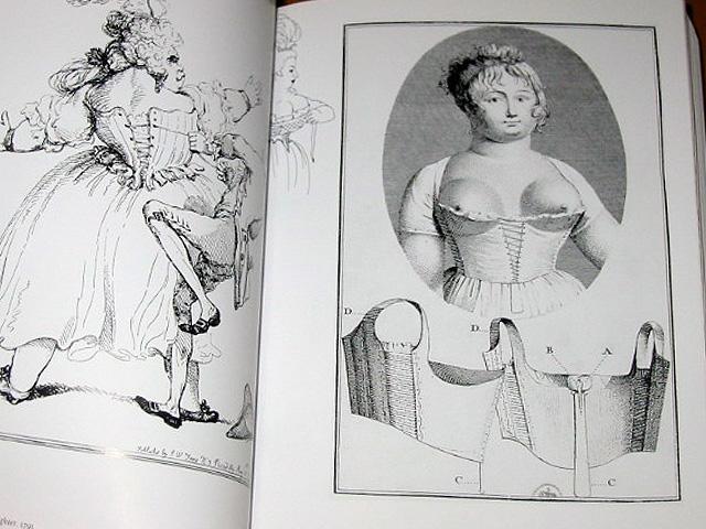 现代少女素描铅笔画
