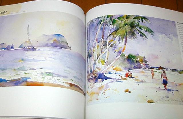 水彩画法 水彩星空画法 日式小清新水彩画法